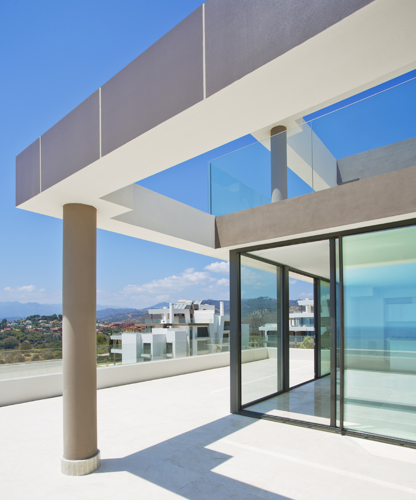 Design Features, Large Windows, Modern Architecture, Marbella, New Style,  Gary Edwards Architectural Images