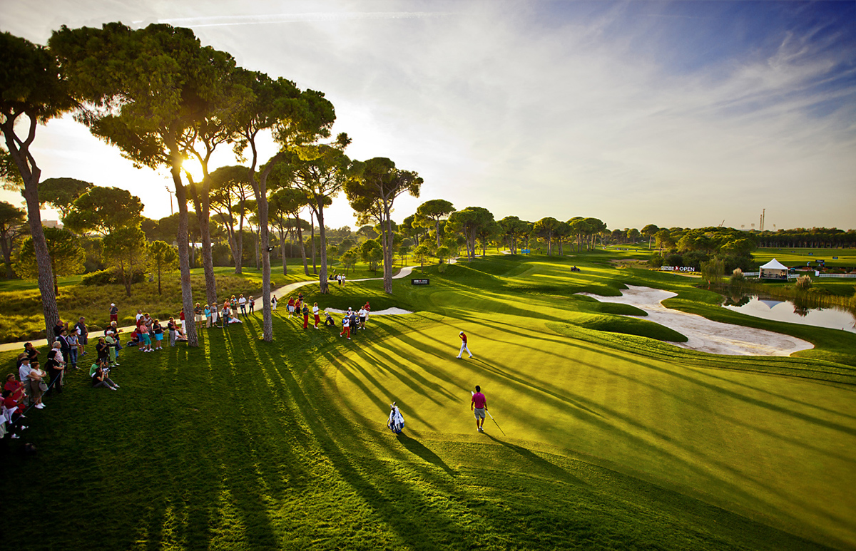 Belek, 18th Hole Montgomerie Course, Antalya, Turkey, Golf Tournament Photographs