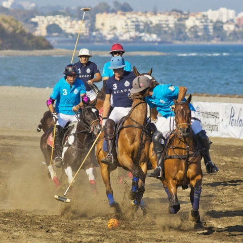 Beach Polo Event, Perlaga, Kempinski Hotel Estepona, James Hewitt, Scapa, Polo Marbella, Beach Polo, Chukkers, Polo Ponies, Things to do in Marbella
