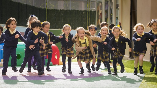 School Break time, Playground, Marbella Photographer, Primary School, School in Marbella, Key Stage 1, Playtime at School