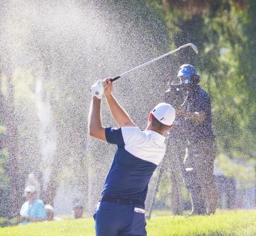 Bunker Shot, Gary Edwards Golf photography
