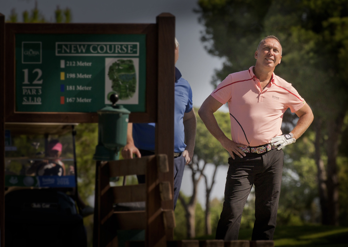 DAVID PLATT, Pro Footballer, Celebrity Golfer, BEKO Pro-Am Golf Tournament