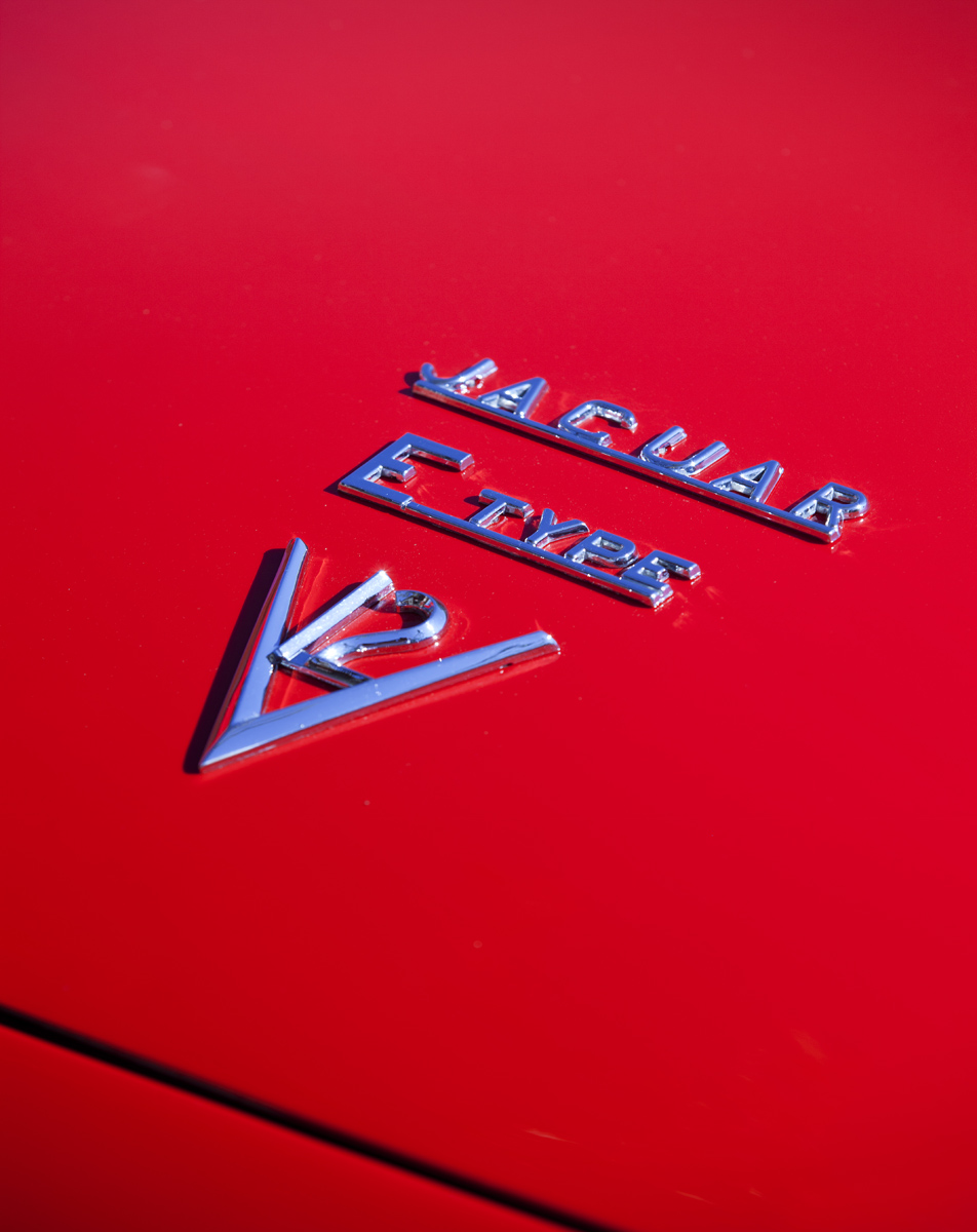 1972 JAGUAR E Type Roadster Series III Detail