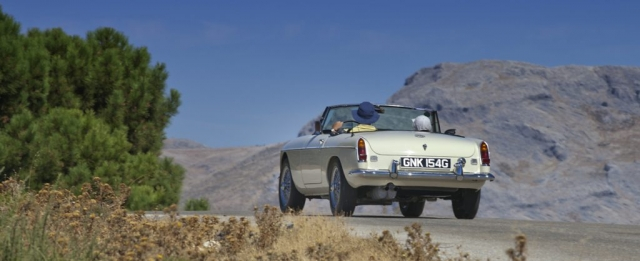 1969 MGC, MGB 1969, GNK 154G, English White MGB, CCCA Classic Car Club Andalucia, Classic cars in Marbella
