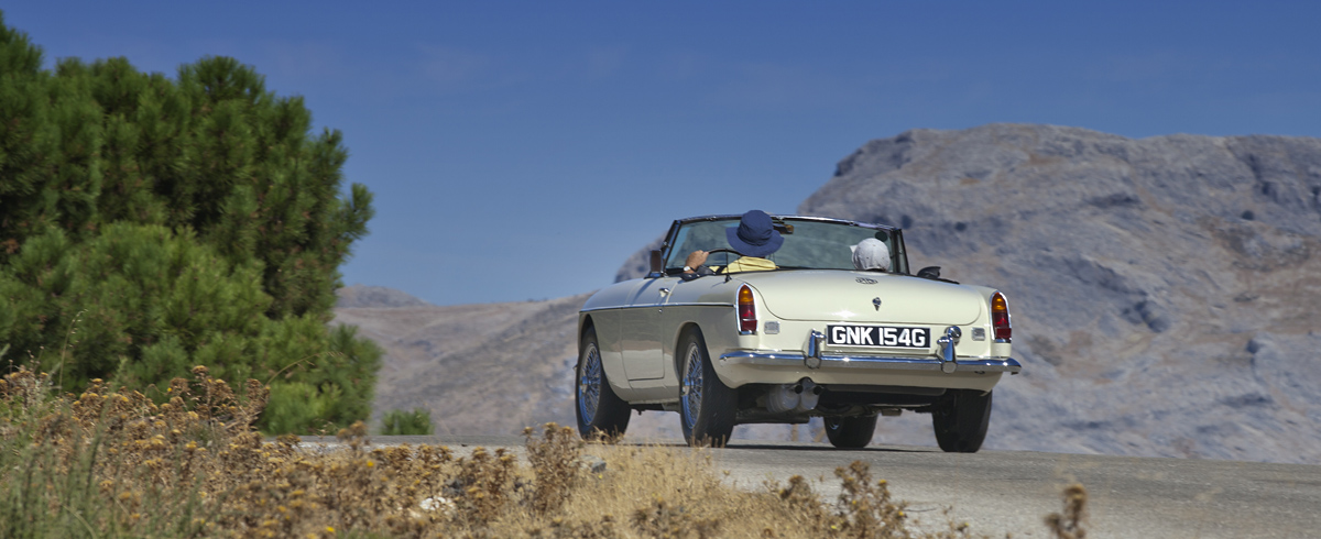 1969 MGC, MGB 1969, GNK 154G, English White MGB, CCCA Classic Car Club Andalucia, Classic cars in Marbella
