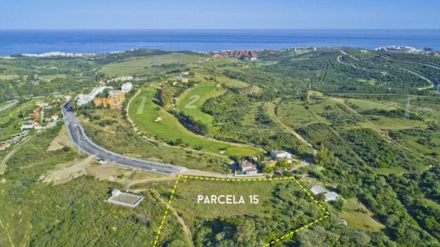 Drone Plot Planning, Golf Course Developments, Aerial views, Parcelas, Estepona Golf