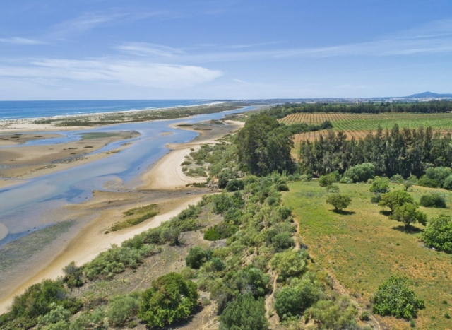 Drone Image Planning, Future Beach Club Development, Portugal, drone photography, licensed drone pilot