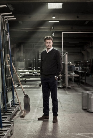 Corporate Portrait, Editorial Portrait, Sofiplas, Factory, 5pm, Closed for the day