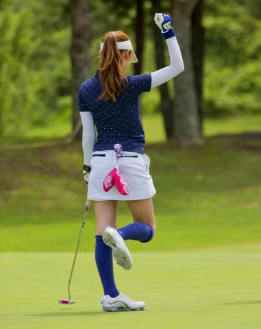 Japanese Lady Golfer, Tokyo