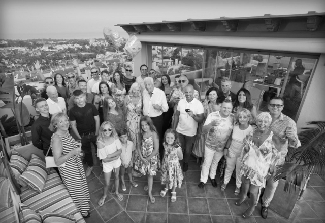 Wedding Anniversary Event, Marbella, Party Photographer