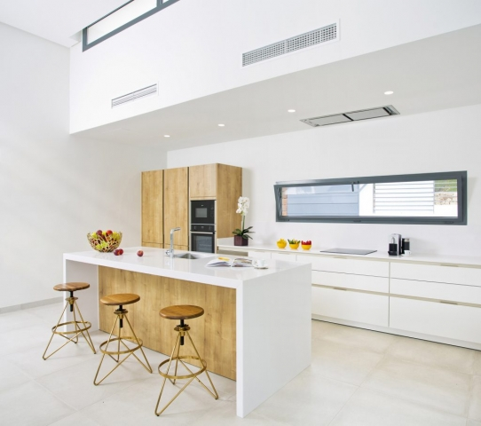 Real Estate, New Development Marbella, property Photography, Clean design, Modern furnished, Gary Edwards Photography, Instagram Images, Signature Fruit, Apples, Modern Kitchen
