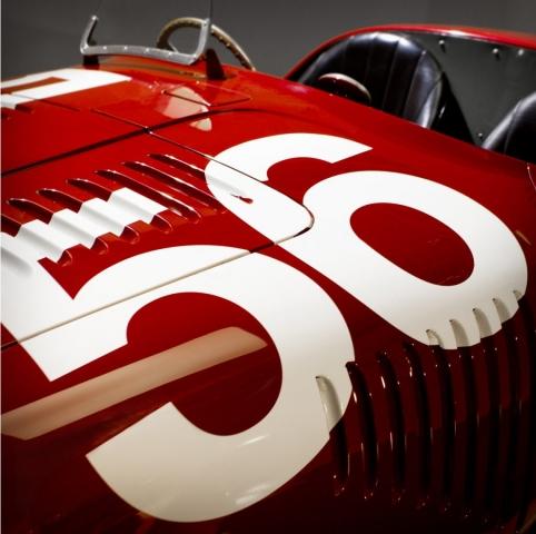 Ferrari Collection, Limited Edition Prints, Print no.01, 1947 Ferrari 125s, Marinello