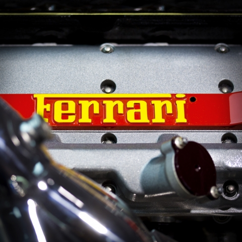 Ferrari Collection, Limited Edition Prints, Print no.01, 1947 Ferrari 125s