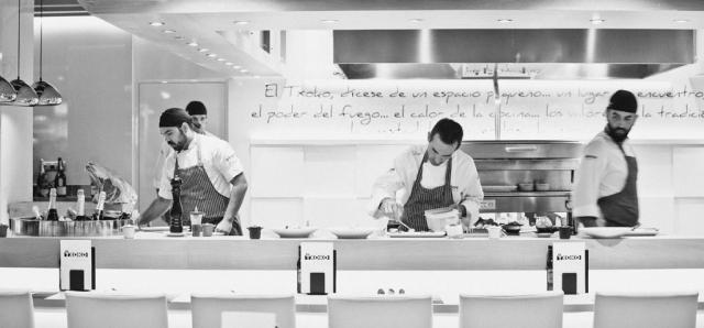 Team Photo, El Txoko de Luis Salinero, El Corte Ingles, Puerto Banus Restaurant