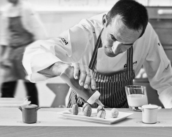 Chef Luis Salinero, El Txoko, El Corte Ingles, Food photography