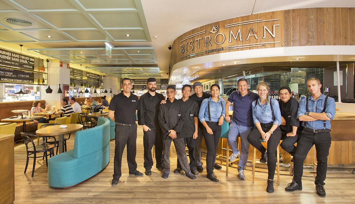 Le Bistroman Staff, El Corte Ingles, Marbella Commercial Photography