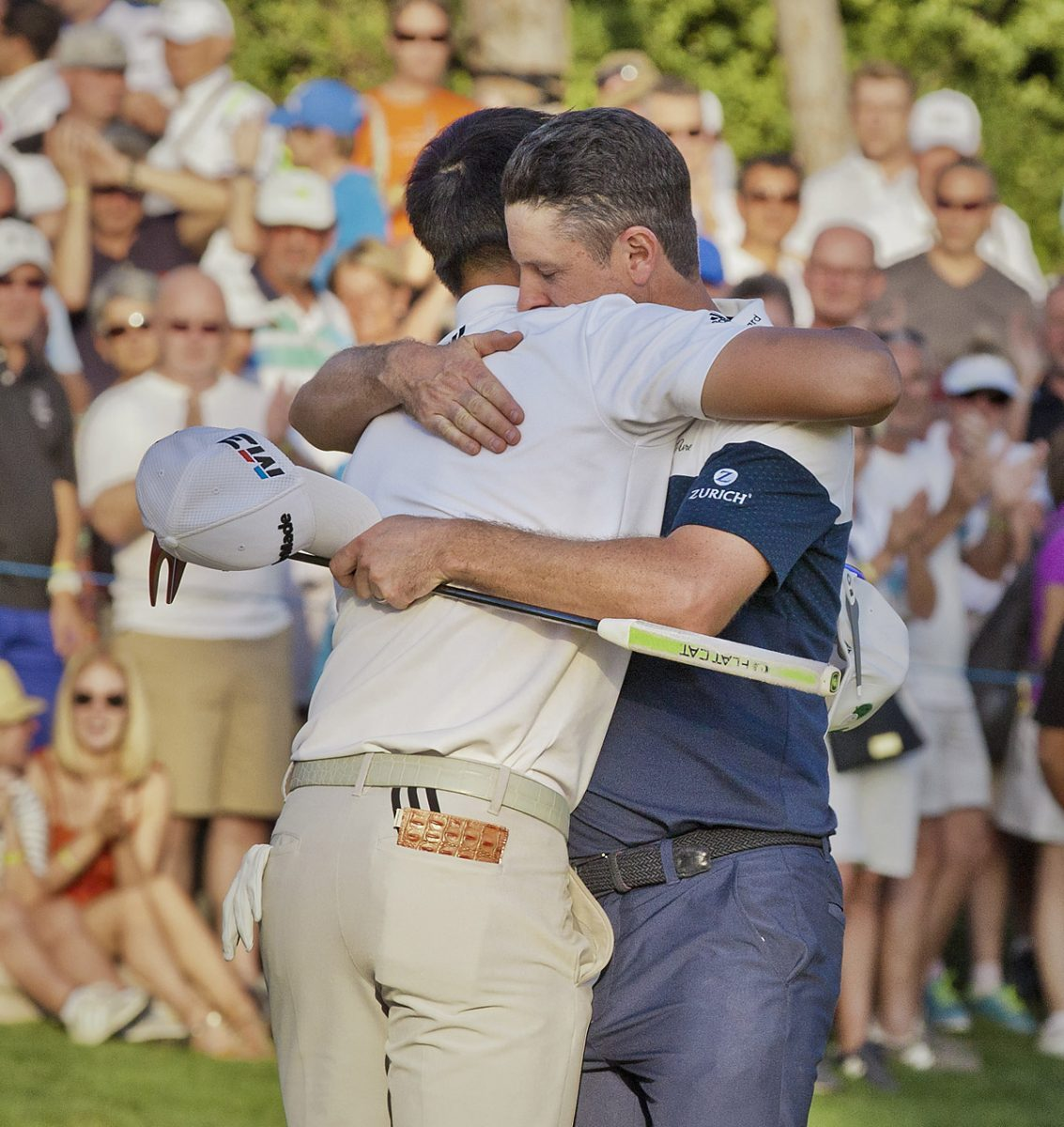 Golf, TA Open Justin Rose, Belek, Justin ROSE beats Li HAOTONG in Play-off, TA Open winner, Justin Rose,