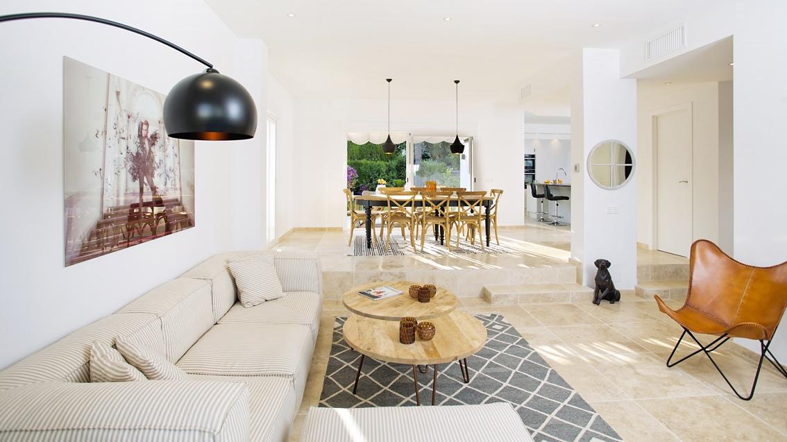 Nueva Andalucia Rental property, Hyresfastighet Marbella, Wide angle, Sleeps 6, 3 bedrooms, Ikea