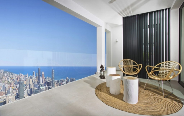 Photography, Willis Tower View Chicago, Marbella Terrace, Gary Edwards, Photoshop skills,
