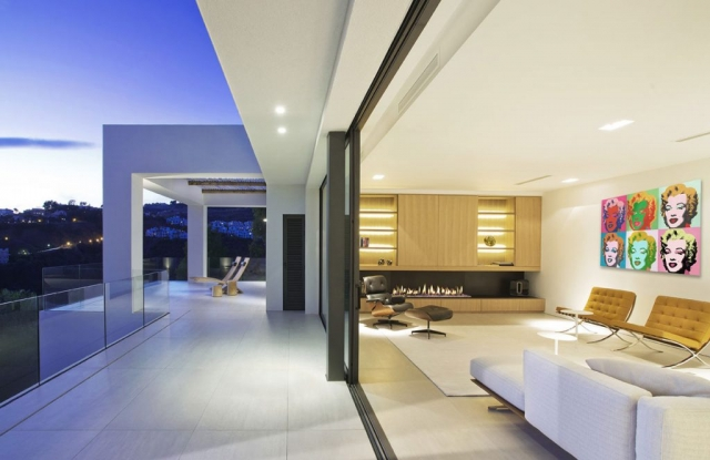 Interiors, Iddomus Design and Architecture, Sunset Marbella House, Best architecture, Designer living Marbella, Villarroel, Warhol Marbella