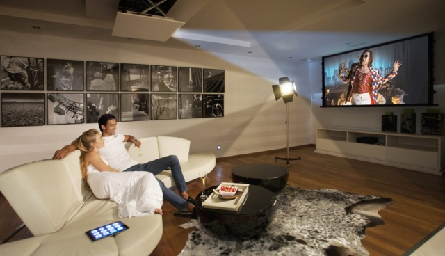 Cinema room, Home cinema Marbella, Models, Meisho Hills Property, Augusto, Kira, Rocket Man, High definition TV