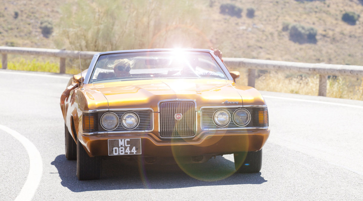 1972 MERCURY COUGAR XR-7, CCCA Car Rally, Andalucia, Marc, Marc C, MC 0844