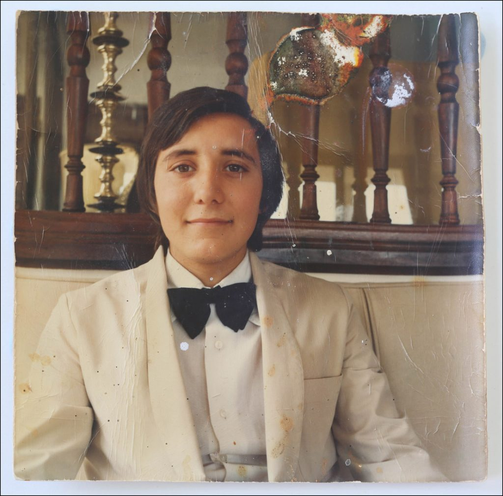 Retouching, Photo retouching, restoring old photographs, Marbella, Nicolas the waiter