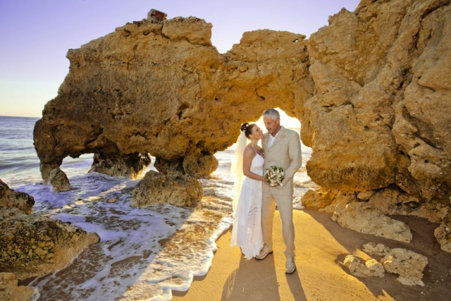 Faux Wedding, Brochures Petchey Leisure, Portugal, Algarve beaches, Weddings Portugal, weddings Algarve, tasty bride on the beach