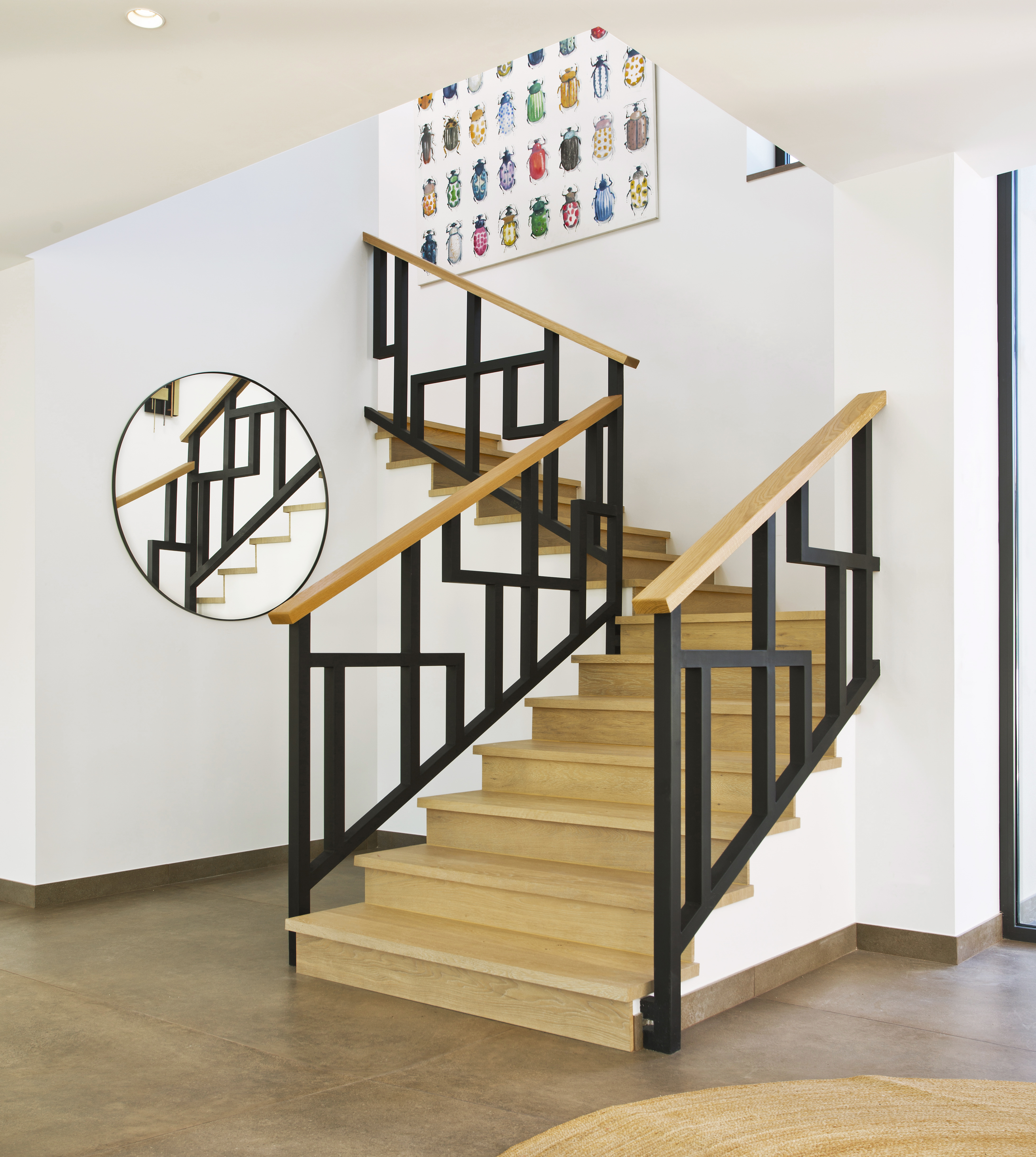 Hand Crafted Staircase in modern new build, Marbella