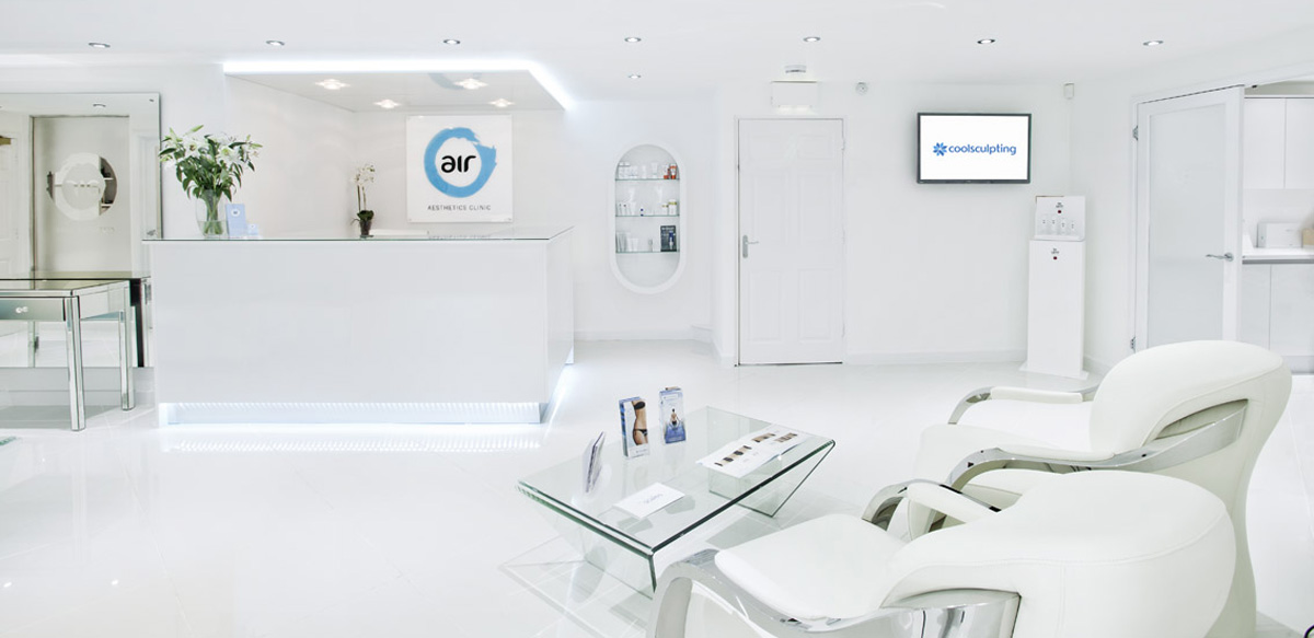 Treatment Services, Air Aesthetics UK, Reception, Skin Treatments