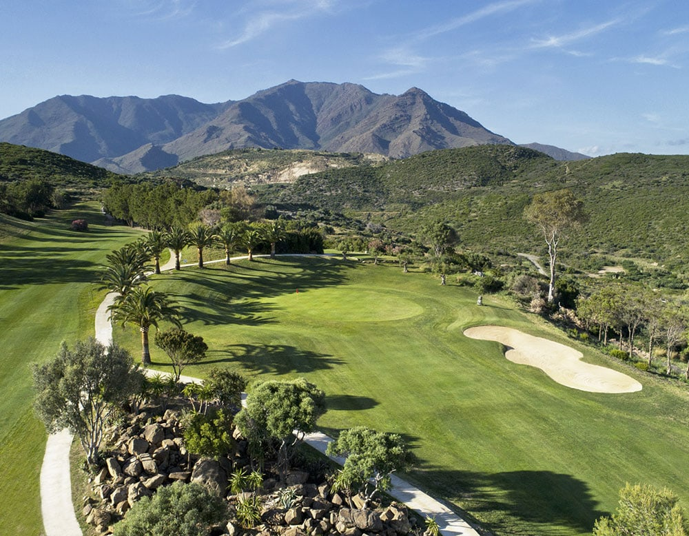 Aerial Photography, Golf Course Mapping and Imagery, drone photography, Estepona Golf, helicopter view, Best golf on the Costa del Sol, Happiest Golf Club in Marbella