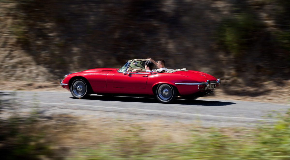 1972 JAGUAR E Type V12 Roadster Series III