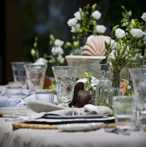 Table Settings, food and gastronomy photography