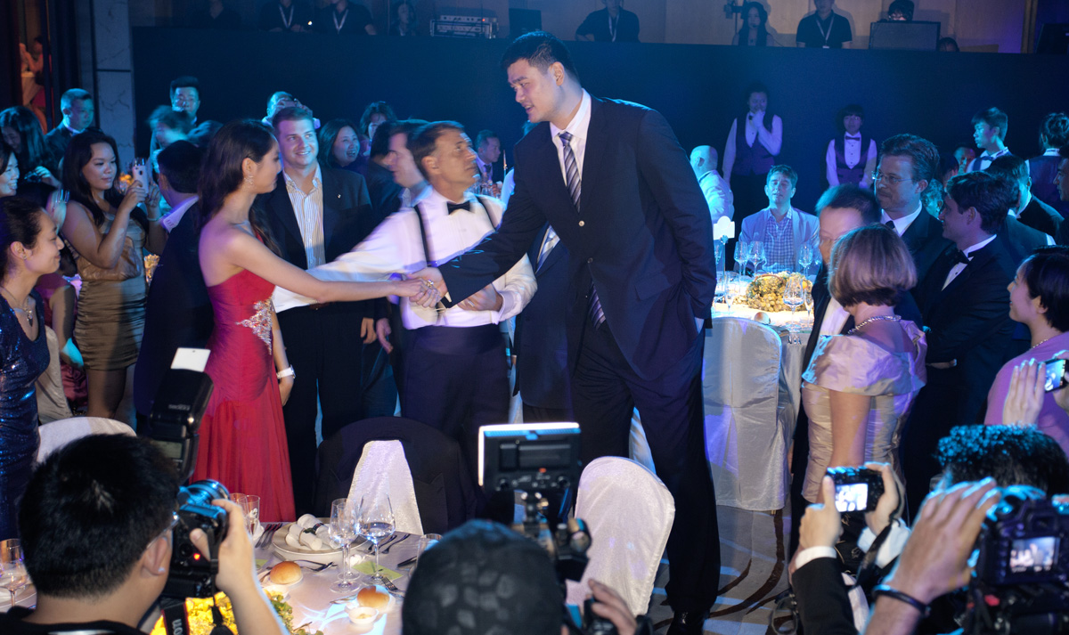 Gala Dinner, Yao MING, President Chinese Basketball Association