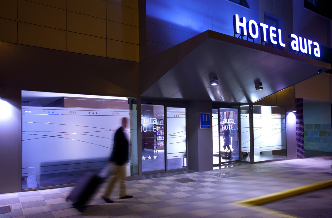 Late Night Arrival, Hotel Aura, Algerciras, Spain, Hotel in Algerciras, Hotel near Gibraltar