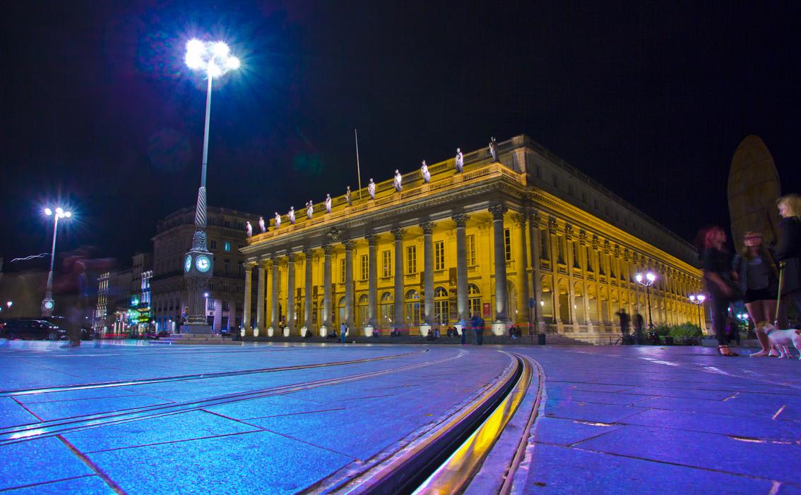 Classic City Architecture, Grand-Théâtre, Place de la Comédie, Bordeaux