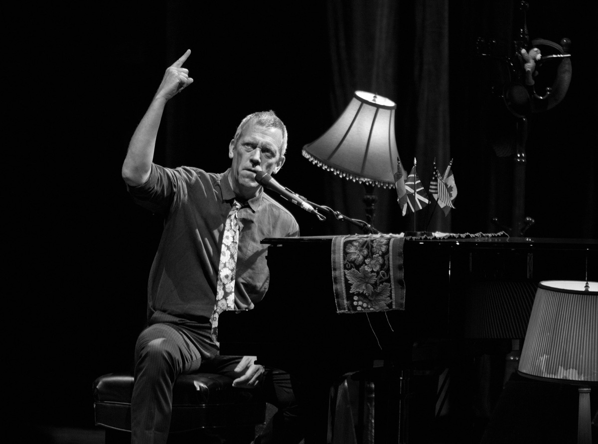 Hugh LAURIE, Starlite Marbella, British Jazz Musician and Pianist, Dr. House, The Band on TV, Jazz Marbella