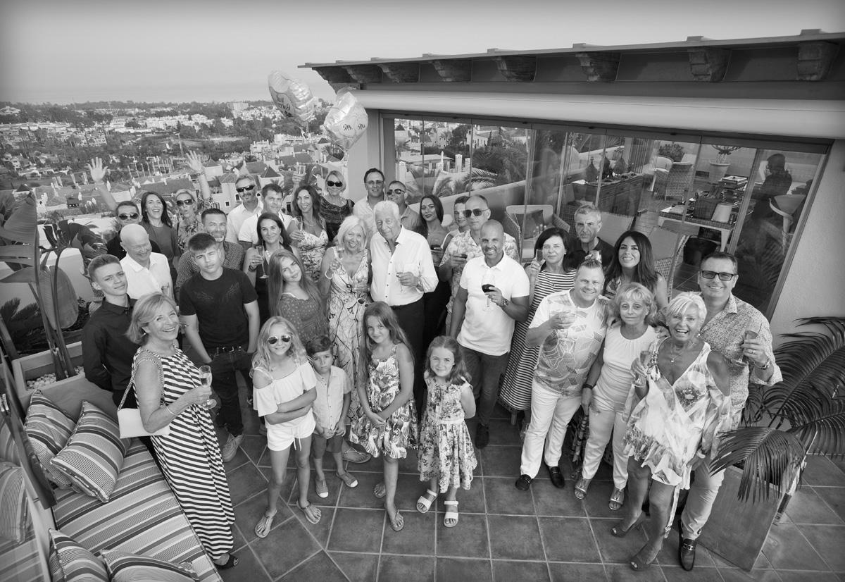 Wedding Anniversary Event, Marbella, Party Photographer