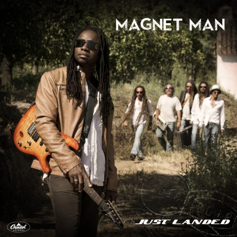 MAGNET MAN, Music Portrait, Record Cover, Dreadlocks, Live music, Music marbella, Musician Photography