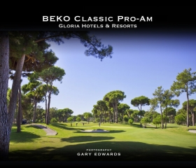 Event Book , Book Cover, Beko Classic Pro-Am, Coffee Table Book, Gary Edwards Photography Golf