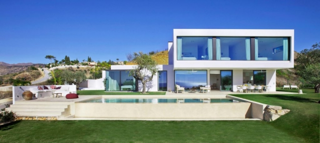 Finished Project, Iddomus, Casa Algeria, Architects Marbella, Modern Build