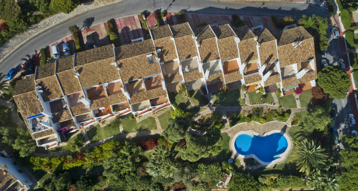 Monte Paraiso Calahonda DJI,  Aerial Photography, Urbanisation photography, developments photography, Gary Edwards, Holiday homes, birds eye view