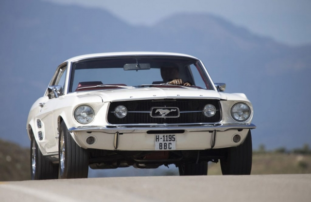 1969 FORD MUSTANG, Muscle Car, White Mustang, Gary Edwards Car Photography