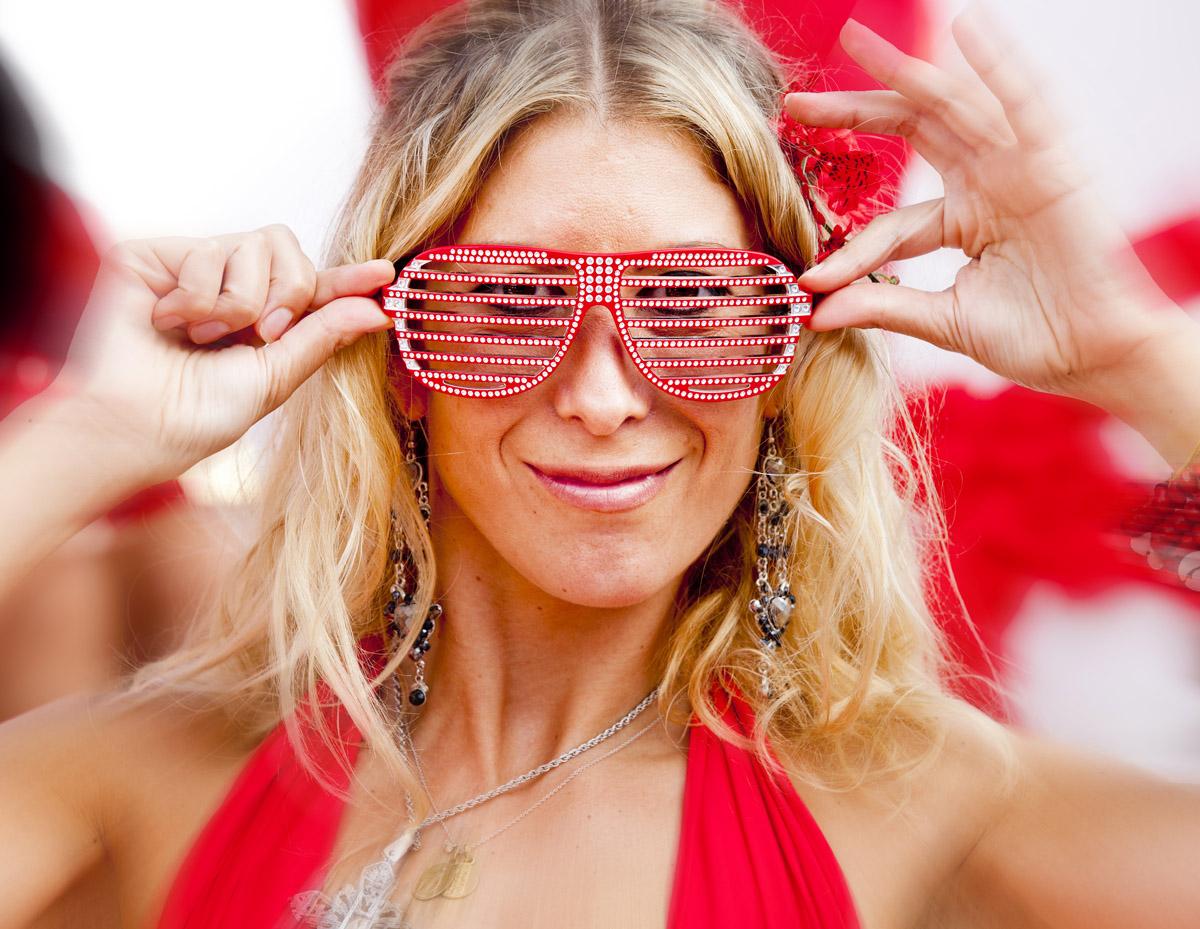 Beach Club Event, Red Party, Nikki Beach