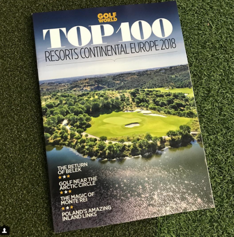 Top 100 Resorts Cover Photograph, Golf World Magazine, Gary Edwards Photography, Drone shot, Monte Rei