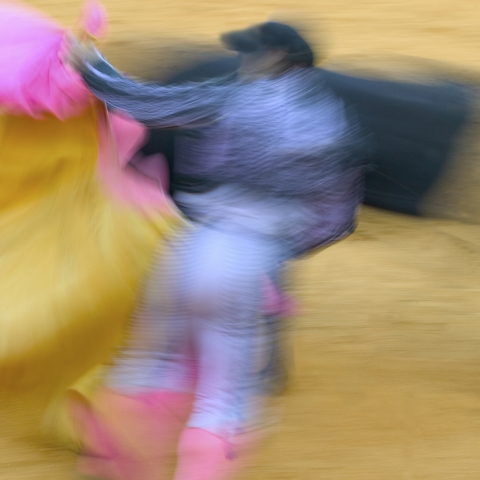 Bullfighting Art, Whoosh, Flying Cape, Limited Edition Prints, Wall Art, Matador, Malaga, Art Photography, Toros Collection