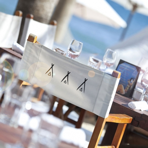 Nikki Beach Marbella, Best beach clun in Marbella, Nikki Beach Logo, Nikki Beach Directors Chair, Vino en la Playa, Sushi at Nikki Beach