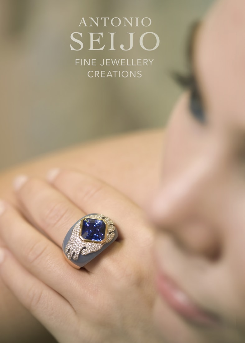 Kira Zafiroagua, ASeijo Advertisement, ASeijo Marbella, Sapphire, Diamonds Marbella
