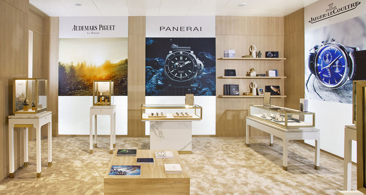 Costa Marbella, Panerai, Audemars Piguet, Cartier, Jaeger-le-Coultre, MontBlanc, Designer shopping, Gary Edwards, Watches Marbella, Watch Corner