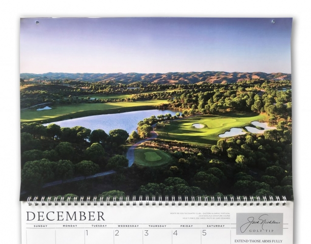December Monte Rei Golf Club for the Jack Nicklaus Calendar 2020